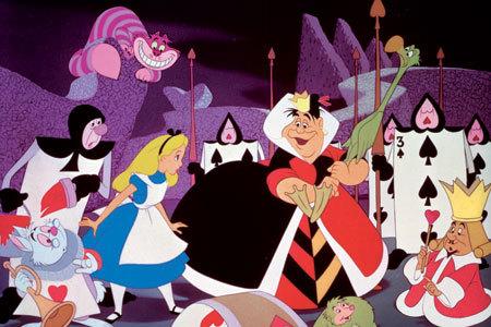 Wonderland. [b]Walt Disney[/b] version.
