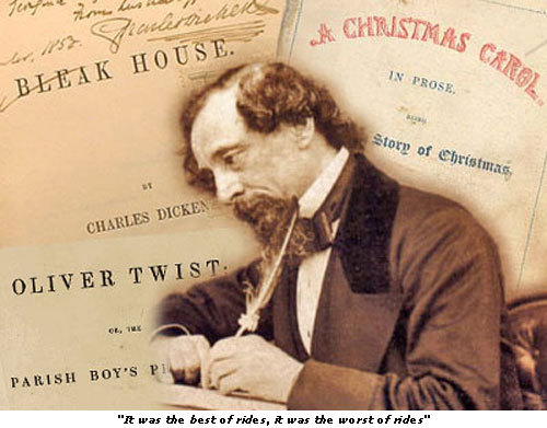 Charles Dickens. He is a novelist, but I like his stories and novels, especially ♥(Oliver Twist)♥. ;)