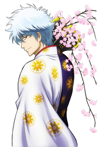 Sakata Gintoki from Gintama one epic anime character and my most paborito <3