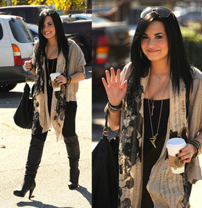 Demi Lovato casual outfit contest.Post pics of Demi wearing a ...