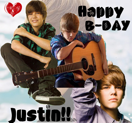 wow, I completely forgot *cough, cough* so... HAPPY BIRTHDAY JUSTIN!!!!! (im not am big fan, but I think everyone deserves a happy B-day ^.^)