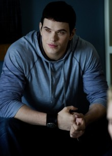 "Edward is my fav character, but Emmett is soooooo cute!!!! :) ♥ He always lights up bad situations with his sense of humor. I like his jokes especially these: ""Fall down again, Bella?"" ""No, I punched a werewolf in the face."" ""You're dating an older woman? That's hot."""