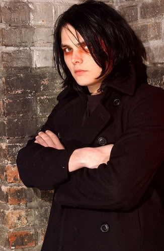 Um....uhhhh....I um....you see...IT WAS GERARD!,HE TOOK IT!, LOOK AT HIM HE'S EVIL! *runs away*