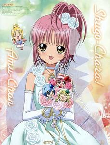 I like Amu Hinamori From Shugo Chara! :D