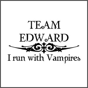 Team Edward! Because Edward is perfect in every aspect of his existence.