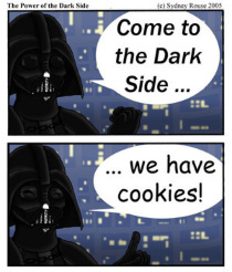 R U DARTH VADER? COZ U MUST...