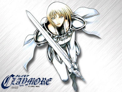 Clare from Claymore! I just started watching it; It's soooo brutal and cool! 哈哈