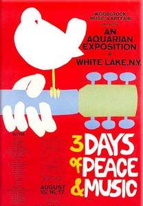 August 15 to 18 of 1969. White Lake, New York. One word: Woodstock.