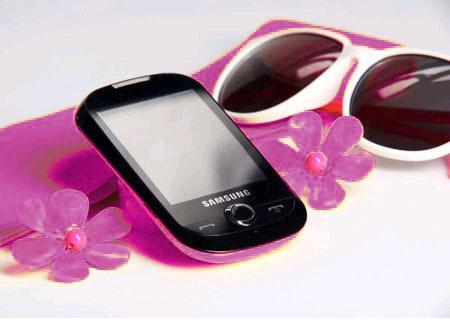 Samsung Corby 담홍색, 핑크 ♥