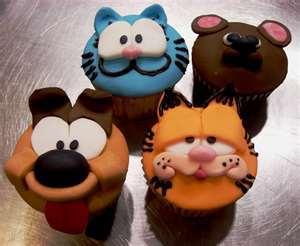 Garfield thy cupcake:)