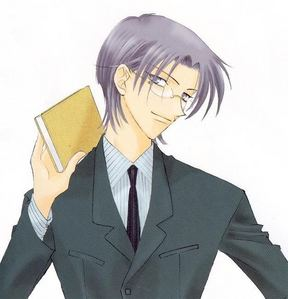 Kyoya and Shigure! freakin hot! huh... they both wear glasses... wierd...