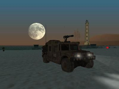 San Andreas because tu get military hardware to play with!