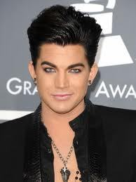 ADAM LAMBERT he shows people that u can be sucssesfull even if u are gey or diferent in any way !!!! go adam