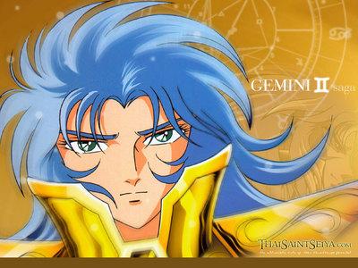 Saga, the Saint of Gemini, from Saint Seiya. ^^