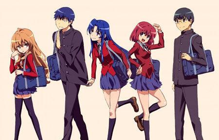 Both Ryūji Takasu: Boy and Ami Kawashim: Girl