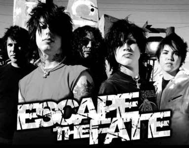 my fav band's escape the fate! they're fuckin' awesome!!!!!