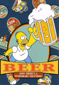 The song Starry Eyed sejak Ellie Goulding has been stuck in my head for quite some time now, and I've been thinking of bir for some odd reason. And because I've been thinking of beer, I've been thinking of Homer Simpson.