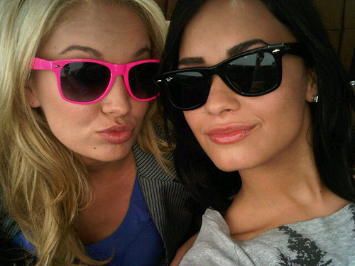 Demi and Tiffany <3