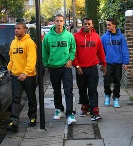 ALL OF THE JLS COLOURS BUT ESPECIALLY BLUE!!! And I like merah jambu too... lolz RANDOMZ XD
