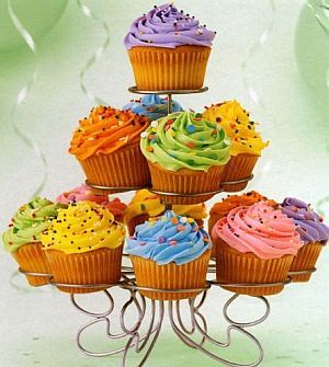 I say cupcake because he is always eating cupcakes!!!!