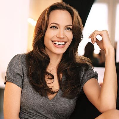 Angelina Jolie, it's ridiculous how Gorgeous she is. O_O