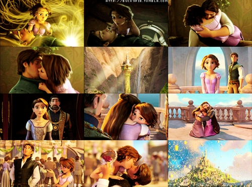 Tangled is WAY better than the Barbie version and here is why. Warning this contains spoilers so if u haven't seen this film u have been warned. The characters in Tangled are meer enjoyable than the Barbie version. The film is romantic, funny and enchanting I was glued to the big screen when I saw this in the theatres in 3D. The story is very well done as its very heart-warming particularly the part where Eugene Fitzherbert chops off Rapunzel's golden hair that's actually brown and sort of dies in the film(but doesn't).Whereas in the Barbie version Gothel chopped Rapunzel's hair but it wasn't that short and it remained the same colour. The villain is very funny and so evil compare to the Barbie version she was weird and creepy. Actually Mother Gothel reminded me of Susan Sarandon meets Cher for some strange reason. Loved the songs as the Barbie one didn't have Rapunzel singing she was obsessed with painting things like the Disney version of Rapunzel but she sings whereas the Barbie one doesn't. Loved the leading man in Tangled he was HOT.(Eugene Fitzherbert plus u gotta love the dreamy voice and the actor that voices him Zac Levi.) Loved the chameleon and the horse than the rabbit and the purple dragon in the Barbie one. Plus I liked Rapunzel & Eugene than Rapunzel and Stefan which was kinda wooden as the couple in Tangled reminded me of Belle & the Beast meets Anya & Dimitri . Lost princess falls for a bad boy who is only interested in money,they fall in love hate each other's guts blah blah blah they live happily ever after and I loved the lantern scene of the one where they try to dance with each other but don't. I love them. Mandy Moore explains it all about this film I honestly liked her in this as she made her charcther real and emotional. Go Mandy. TANGLED ROCKS