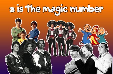 3, it's a magic number ;)