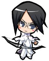Uryuu Ishida chibi power from Bleach!