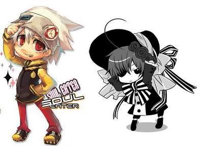 Soul Evans.. and Ciel Phantomhive. |D'