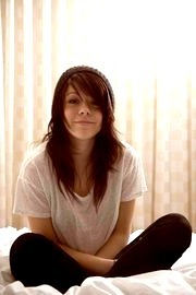 Tay Jardine from We Are The In Crowd. WATIC are my favourite band at the moment and Tay's my idol! I slightly edited this picture (: