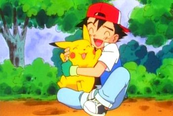 my first anime..pokemon..ash and pikachu current fav mark evans,axel blaze,jude sharp from inazuma eleven