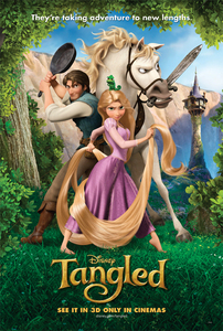 I love Barbie films very much but I am going to say I love Tangled more. Because it's such a really good movie. The story,the characters,the funny parts, the muziek and songs all rock.I love Tangled so much. It's such a cool and super good movie :D Tangled forever!