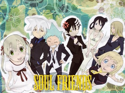 Bleach and Soul Eater!!!! My fav. characters are Bleach: Szayel Aporro. Soul Eater: Death the Kid.