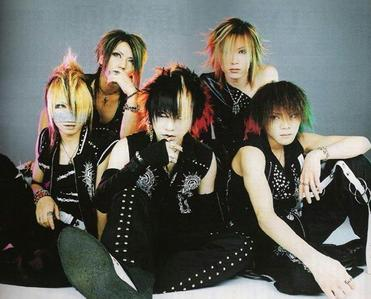 SuG, The Gazette, Versailles, dir en grey and An Cafe those are my superiore, in alto 5