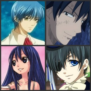 Len Tsukimori-La Corda D'oro Primo Passo Gray Fullbuster-Fairy Tail Wendy Marvell-Fairy Tail Ciel Phantomhive-Kuroshitsuji