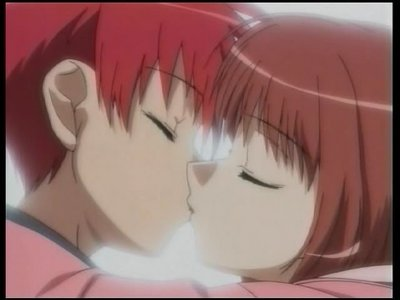 Daisuke and Riku from D.N.Angel, awwww X>