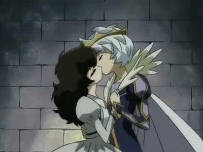 Mytho and Rue from Princess Tutu ^^
