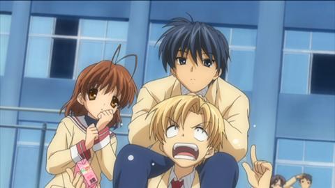 T? Oh! I am such a forgeter! I like Teena (Teana) Lanster! & Tomoya Okazaki.
