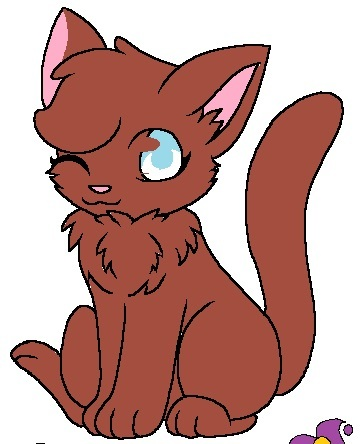 here is a kitty Чиби i drew x3