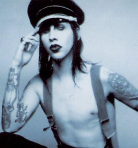 Marilyn Manson!!! :D (isnt he hot?)