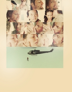 I will talk about my old OTP. S4, episode 4x13, Sawyer jumps from the helicopter, leaving Kate behind with a broken heart. In that moment I knew I would love them forever.