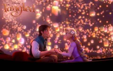 Rapunzel and Flynn!