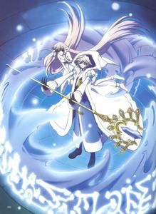 Fai and Chi from Tsubasa Reservoir Chronicle Chi(Elda) and Freya from Chobits