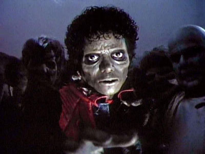 Thriller is in the wold recored book for the best song. If Miley Cyrus ever ever think of doing thriller. Then this hot zombie is going to get her. HEAR THAT MILEY DON'T wewe DARE DO THRILLER.