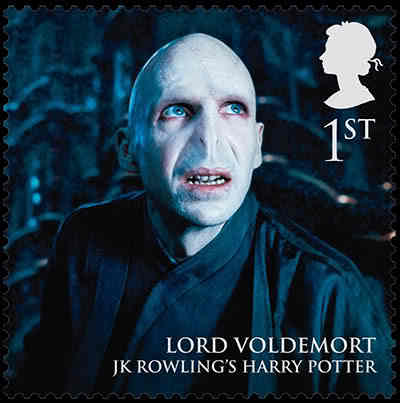 Lord Voldemort stamps!!