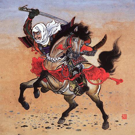 俺さまは 侍 です。 俺さまは 剣術を します。 I am a samurai, I use a Katana.