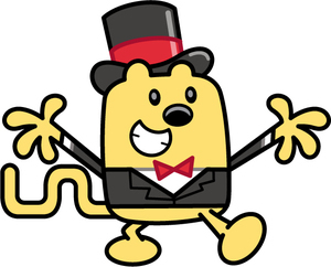 Wow Wow Wubbzy!!! XD I'm kinda watching the early-morning kid shows. Brings back memories...