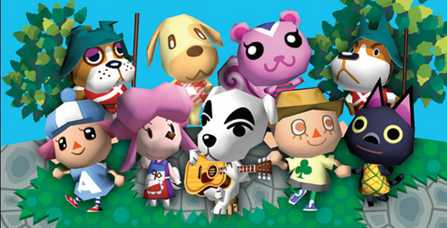 It was all the guys from animal crossing!