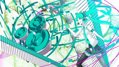 Hatsune Miku's Melt Makes me happy when I look at it