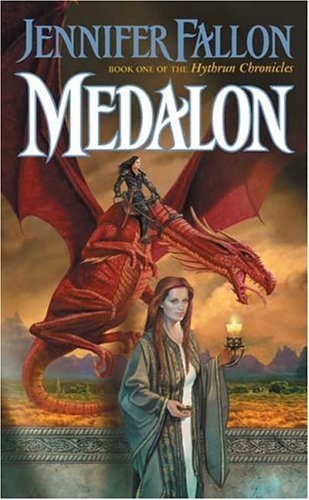 Oh crap this is hard! Umm lets narrow it down to two no no 3 1) Tolkien's Lord of the rings 2) Anne McCaffrey's Dragonriders of Pern Series 3) Jeniffer Fallon's Hythrun Chronicles